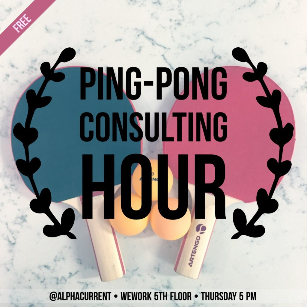 Ping Pong Consulting Hour